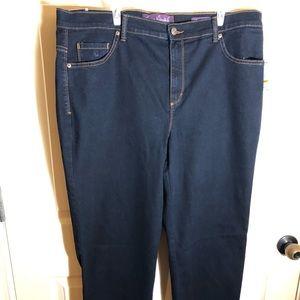 Blue Gloria Vanderbilt Jeans